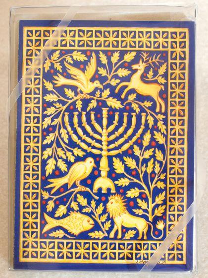 Hanukkah Holiday Boxed Notes
