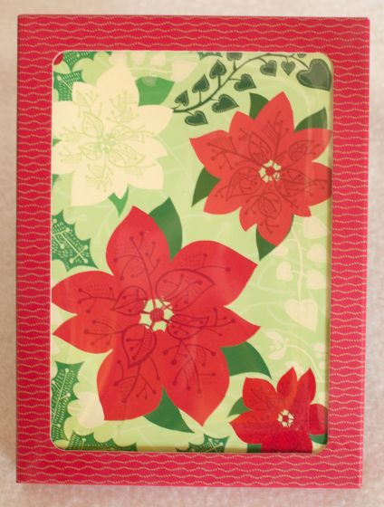 Poinsettia Holiday Boxed Notes