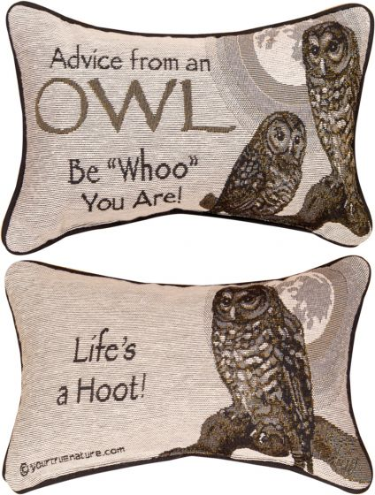 Advice From An Owl™ Pillow
