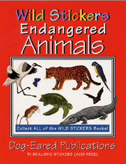 Endangered Animals Stickers