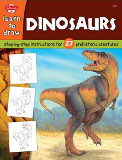 Learn To Draw: Dinosaurs.