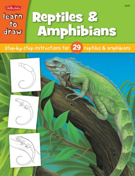 Learn To Draw: Reptiles & Amphibians