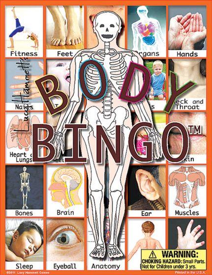 Body Bingo Game