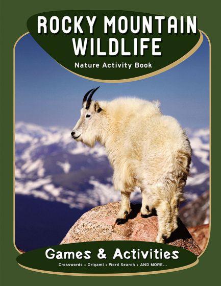 Rocky Mountain Wildlife Nature Activity Book.