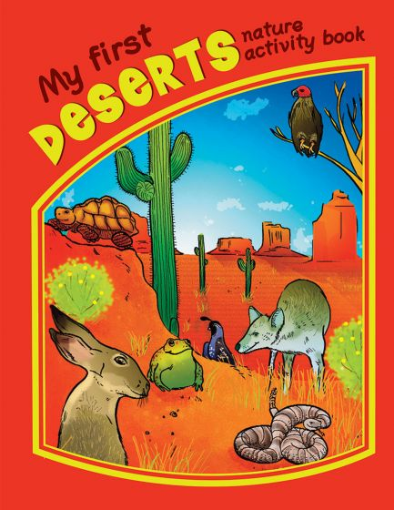 My First Deserts Nature Activity Book