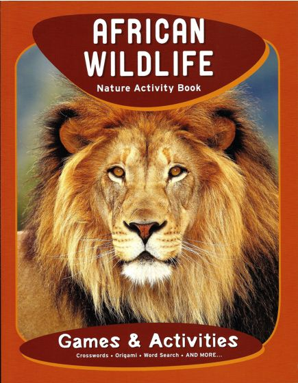 African Wildlife Nature Activity Book.