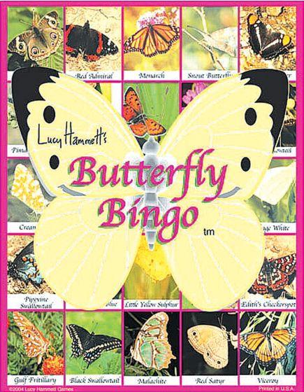 Butterfly Bingo Game