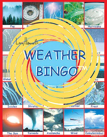 Weather Bingo Game.