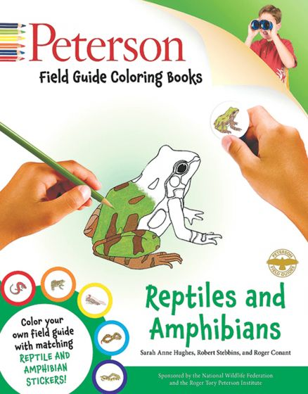 Reptiles And Amphibians Coloring Book (Peterson Guide)