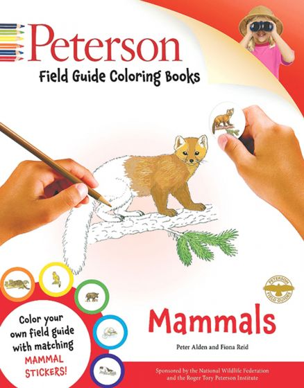 Mammals Coloring Book (Peterson Guide)