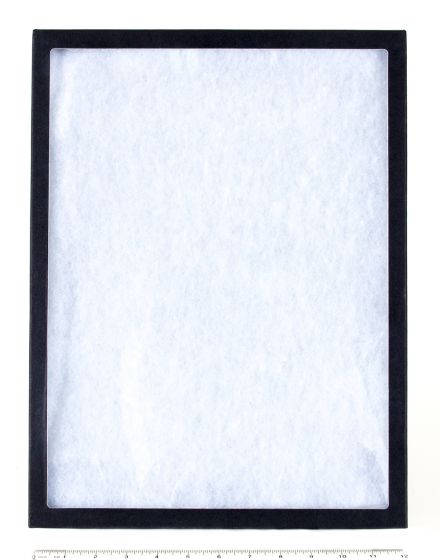 """Extra-Depth Glass-Topped Display Case (12"""" X 16"""" X 2"""")"""