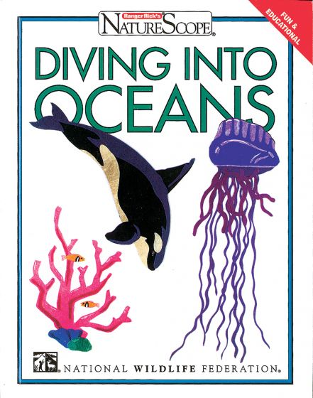Naturescope: Diving Into Oceans (Hardcover)