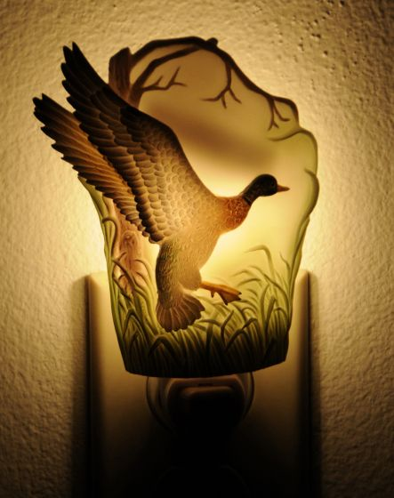 Mallard Duck Night Light