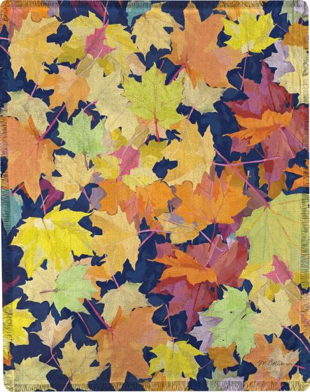 Fall Leaves Throw