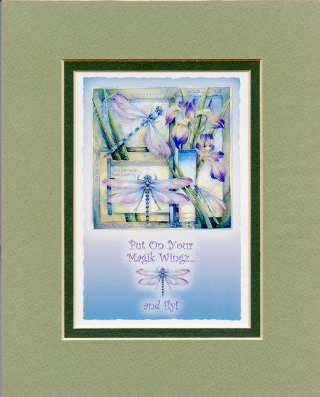 Dragonflies Magik Wingz Print.