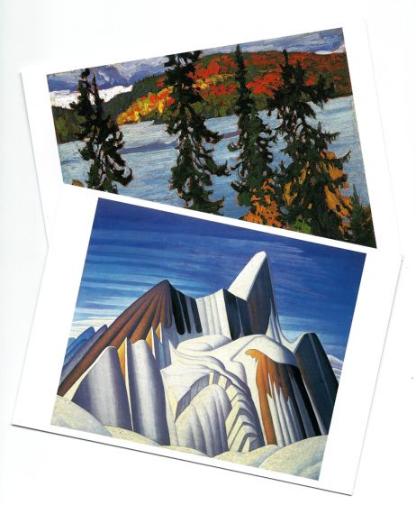 Lawren S. Harris Landscapes (Boxed Notecards)