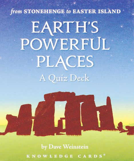 Earth'S Powerful Places Knowledge Cards