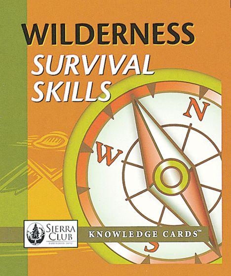 Wilderness Survival Skills Knowledge Cards
