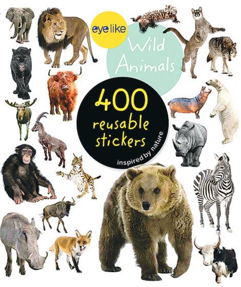 Wild Animals (Eyelike Stickers).