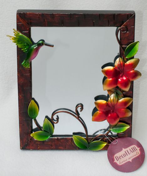 Hummingbird Metal Mirror.