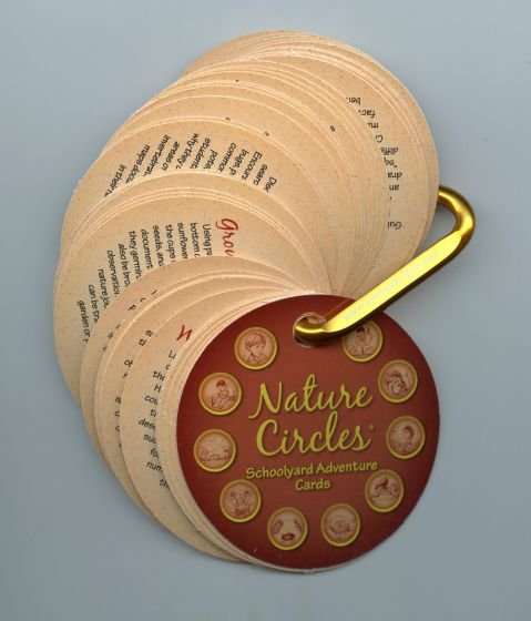 NATURE CIRCLES® SCHOOLYARD ADVENTURE CARDS.