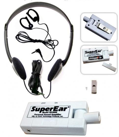 Super Ear® Personal Sound Amplifier (Model SE 5000)