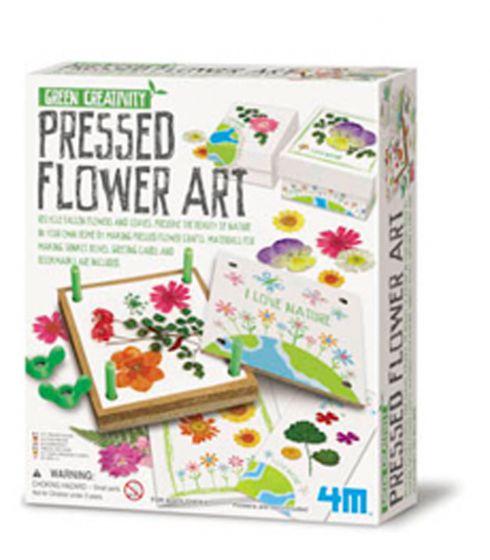 Pressed Flowers (Green Creativity Kit)