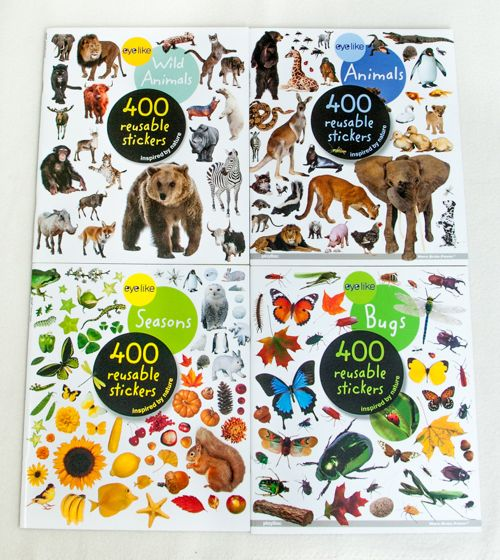 Eyelike Stickers Collection (4 Titles).