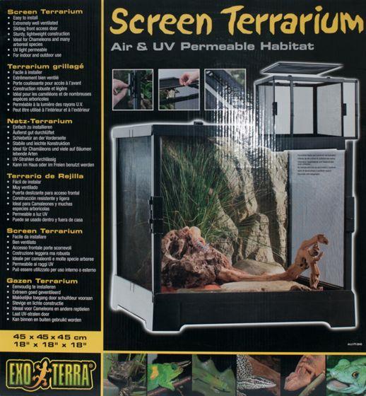 Screen Terrarium [18 X 18 X 18]