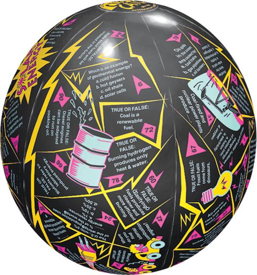 Alternative Energy Instructional Play Ball