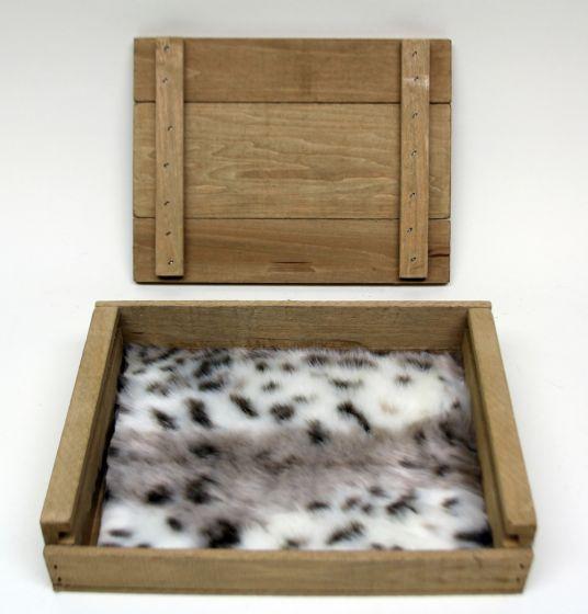 Leopard (Snow) Kind Fur® (Boxed)