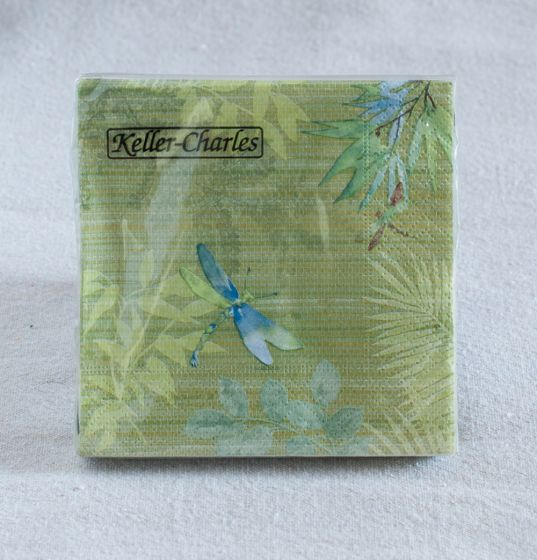 Dragonfly Cocktail Napkins (Pack Of 20)