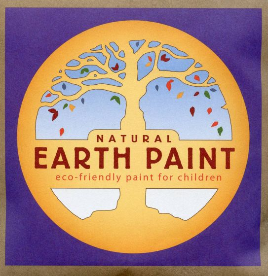 Earth Clay Paint Packet: Purple