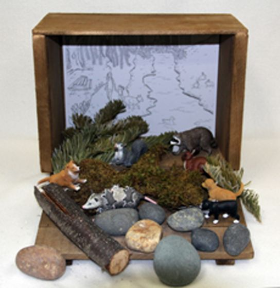 Urban Diorama (Create-A-Scene® Habitat Diorama Kit)