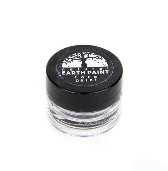 Earth Clay Face Paint Jar: Black.
