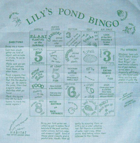 Pond Bingo Scarf (Fundana Bandana)