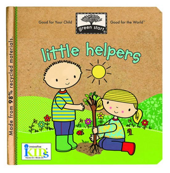 Little Helpers (Green Start® Board Book).