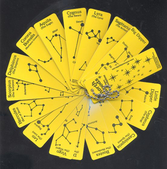 Constellations Plastic Laminated Field Guide
