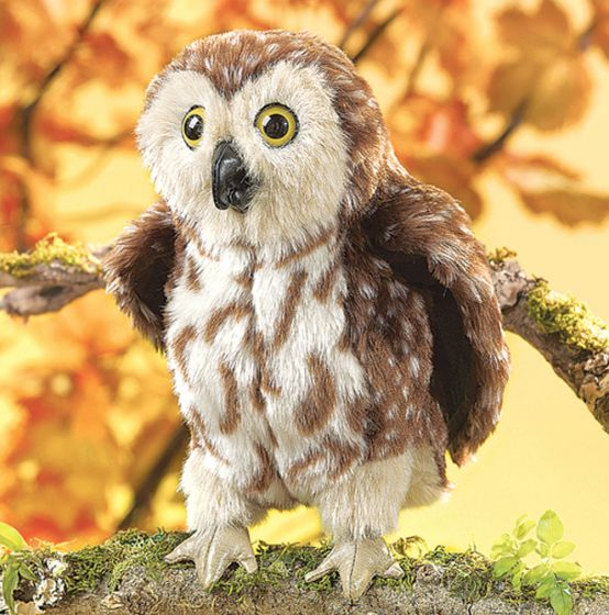 Owl (Saw-Whet) Puppet