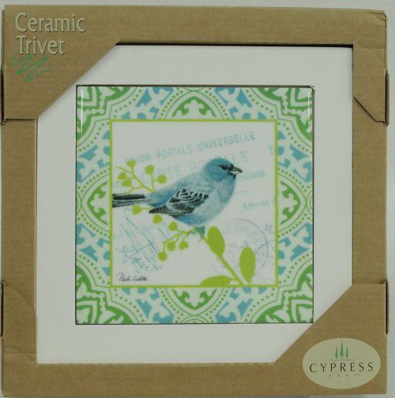 Songbird Ceramic Trivet