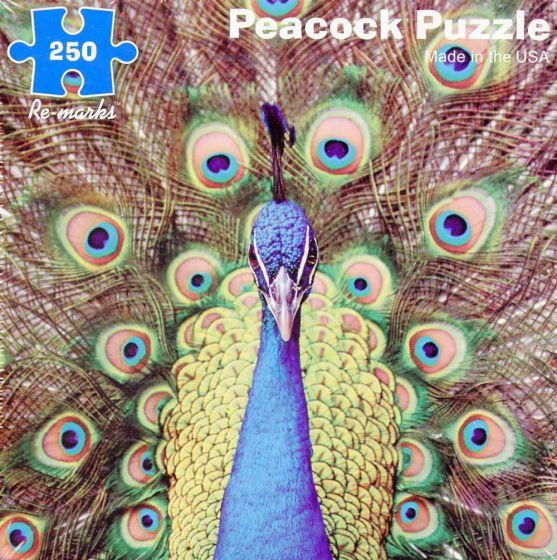 Peacock (250 Piece Puzzle)