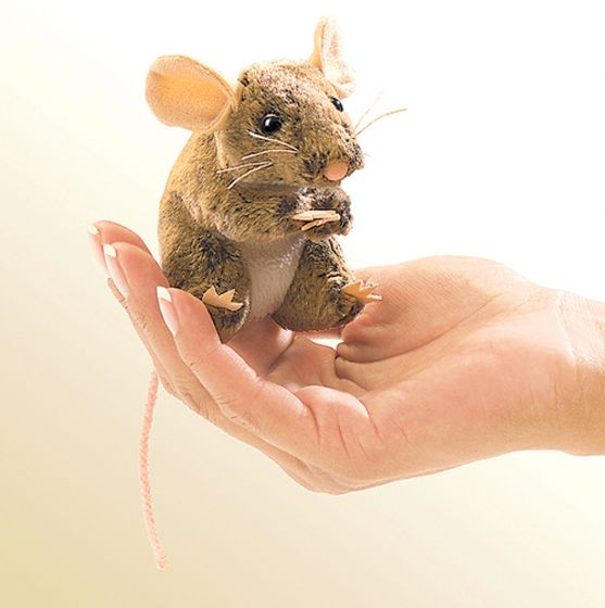 Mouse (Field) Finger Puppet
