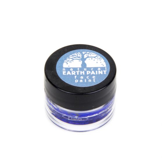 Earth Clay Face Paint Jar: Blue.