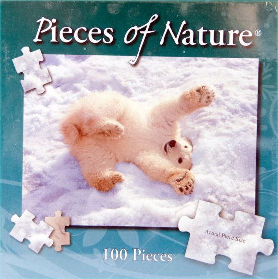 Polar Play 100-Piece Puzzle (Pieces Of Nature® Series)