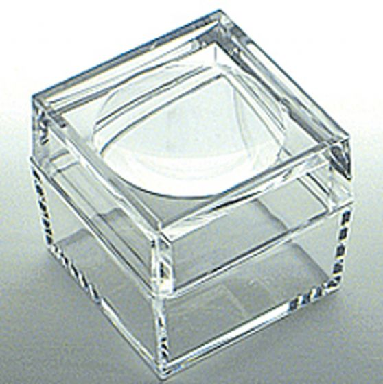 Clear Lucite Magnifying Box (Large)