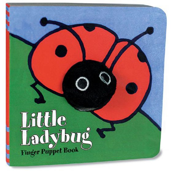 Little Ladybug (Finger Puppet Board Book)
