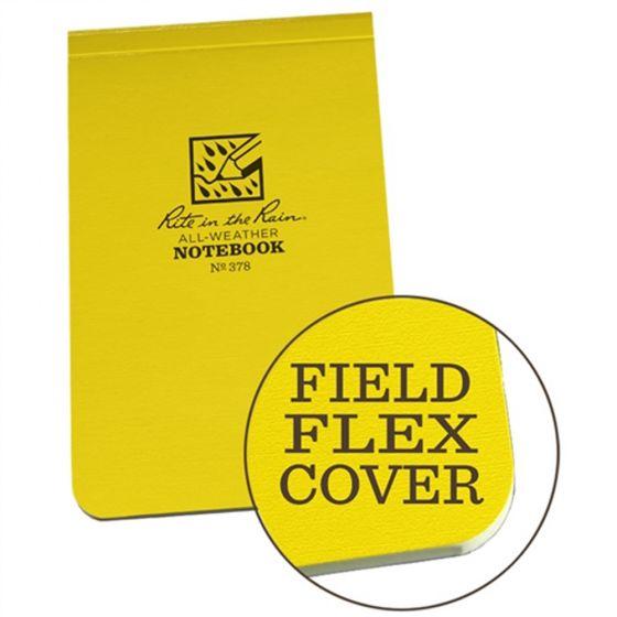 All-Weather Field-Flex Top-Bound Pocket Memo Journal (Rite-In-The-Rain®)