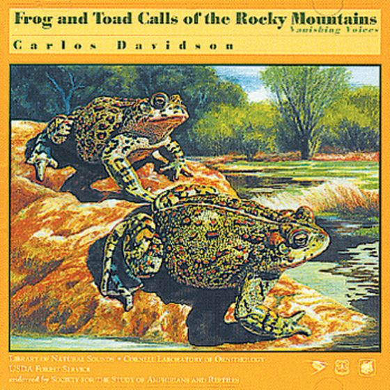 Frog And Toad Calls Of The Rocky Mountains (From Canada To New Mexico