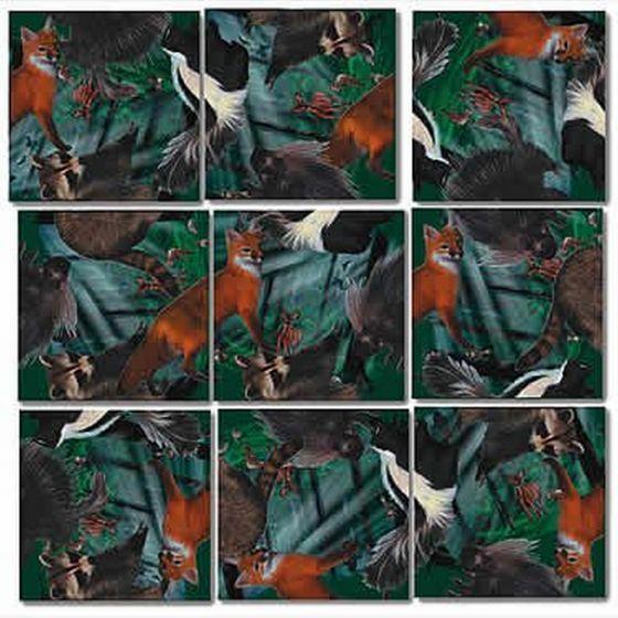 Foxes Scramble Squares®
