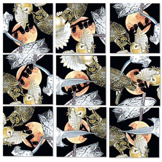 Owls Scramble Squares